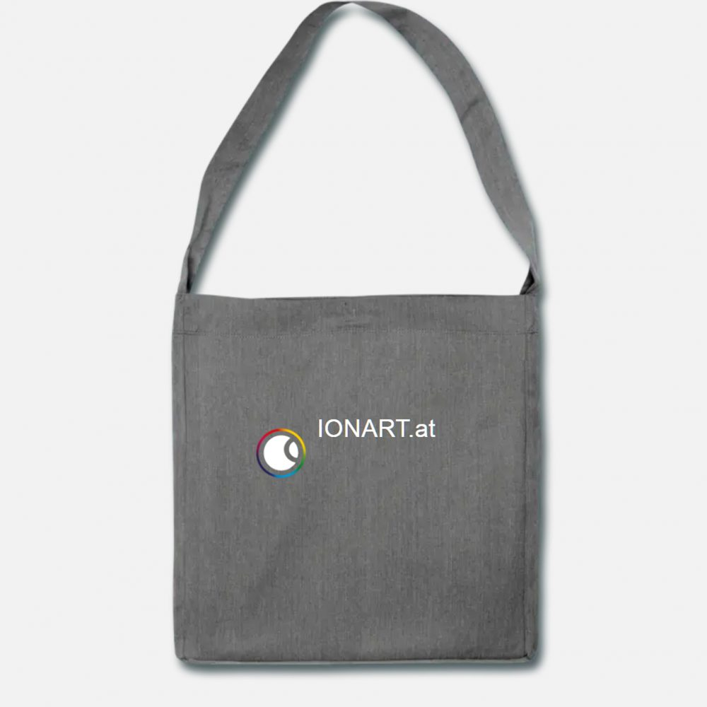 IONART shoulder bag made of recycled material